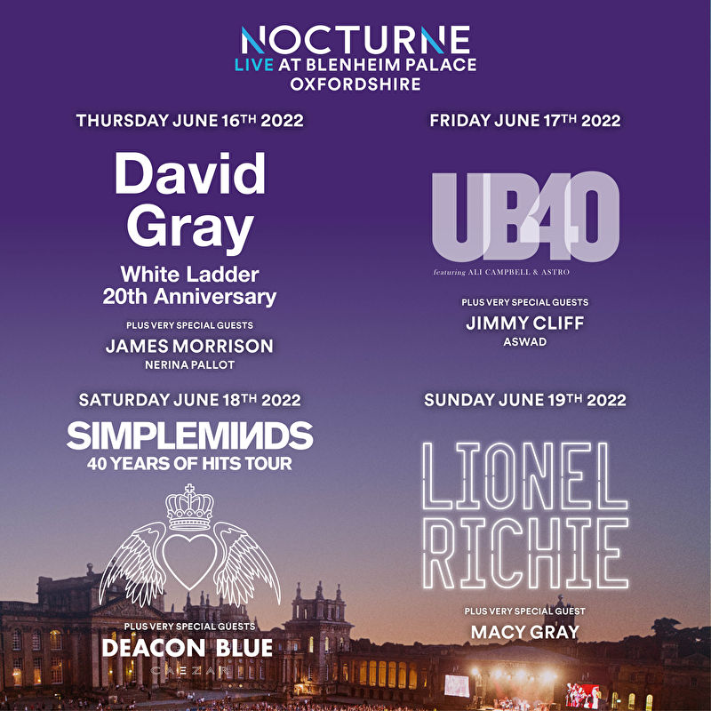 Nocturne Live Postponed to 2022