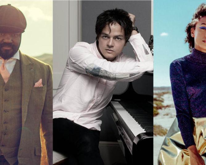 Gregory Porter, Jamie Cullum plus Corinne Bailey Rae